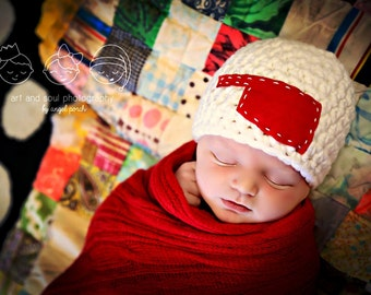 Newborn Baby Photo Prop Oklahoma Hat
