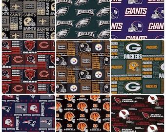 NFL Teams - Reversible Bibdana, Baby/Toddler Bib - Choose your football team