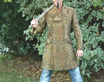 Men Tapestry Coat