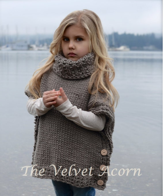 Knitting Pattern Azel Pullover 2 3/4 5/7 8/10 11/13