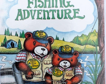 My Fishing Adventure - A personalized book for your child - A Unique gift that will become a keepsake.