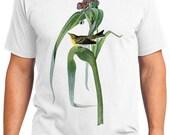 Vigors Warbler Bird Retro Men & Ladies T-shirt - Gift for Bird Lovers and Ornithologist (idc030)