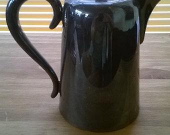 Vintage English Henderson Silversmiths Heavy EPNS Silver Plate Teapot Coffee Pot circa 1950's / English Shop