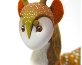 Flox No. 11 - One of a Kind Needle Felted Art Doll