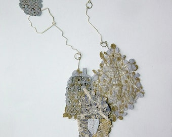Necklace - brooch ''The flying tree'' from the Fall/Winter 2012-13 collection