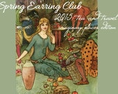 CUSTOM FOR BEV - Earring Club