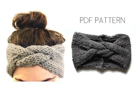 Braided Headband PDF knitting pattern by Westlake Designs