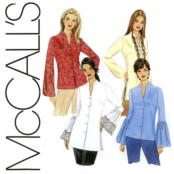 Sewing Patterns Tunic Tops Tops And Tunics Pattern Uncut