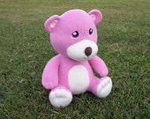 Large Pink Huggable Teddy Bear