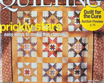American Patchwork and Quilting, October 2004, Issue 70