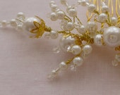 Bridal Pearl Sprays - Bridal Hair Comb