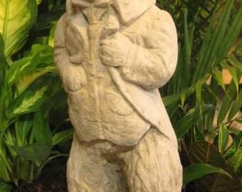 Large Concrete Classic Rabbit Statue