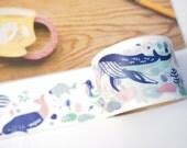 Aimez le style Sea Creatures Washi Tape (38mm X 7M)
