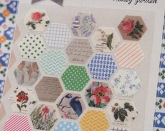 Honey Garden Sticker (1 sheet)