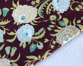 amy butler fabric, gypsy caravan, gypsy mum - wine, 1 yard