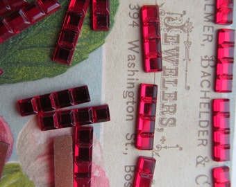 24 Western German Ruby Trim Cabochon