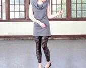 Sheer leggings, Lace leggings, Black leggings, Black tights, Black Lace tights, Black pantyhose, High waist leggings, Sexy leggings S-XL