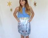 SALE: Size Medium Star Skirt With Curved Hem