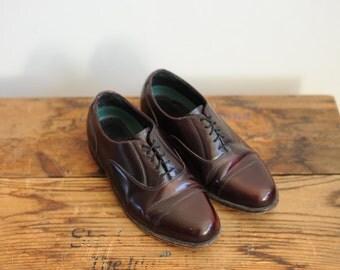 Vintage Florsheim Imperial Mens Oxford Dress Shoes, Mens 7 1/2 / ITEM230