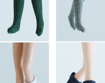 Miss yo 2015 Summer & Autumn - Mid Length Socks for Blythe doll - dress / outfit - 4 colors in