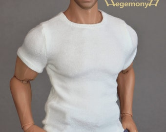 1/6th scale XXL T shirt for: Hot Toys TTM 20 size figures