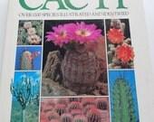 Vintage Cacti Hardback Book 1991