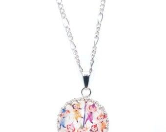 Mary Blair Maypole Antique Silver Necklace