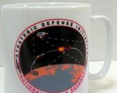 Vintage Mug,Coffee Mug,National Missile Defense,Strategic Defense Initiative,Military,Keepsake. FREE Shipping