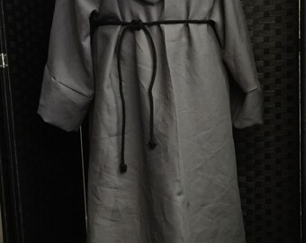 Maester robe game of thrones grey linen custom made for you
