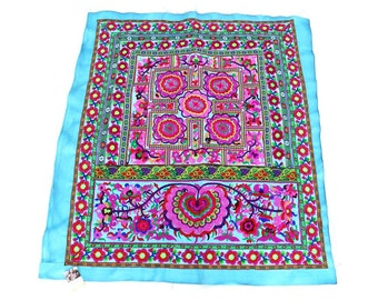 New Fashionable Beautiful Embroidered Fabric Ethnic Handmade Thailand   (TX141-BC)