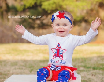 1st Fourth of July tutu- Fourth of July tutu- 4th of July tutu- 1st Fourth of July shirt- Fourth of July baby- girl 4th of July shirt- 4th