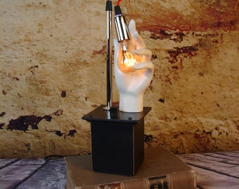 Assemblage Art - Lighting - Upcycled Mannequin Light - Modern
