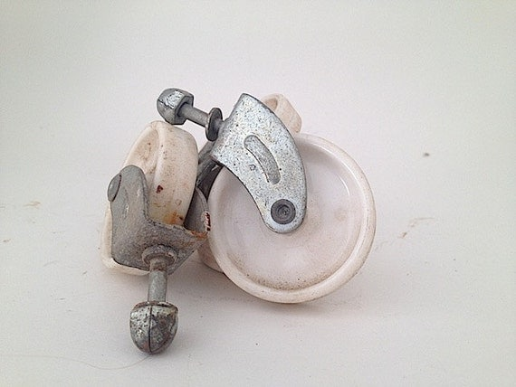 antique wheels casters furniture casters mid by thenewtonlabel