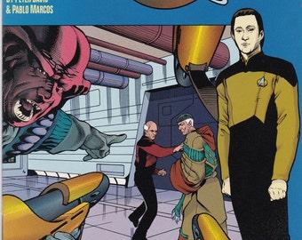 Star Trek The Next Generation The Modala Imperative #3 1991 DC Comics - science fiction - vintage comic - Star Trek - Next Generation
