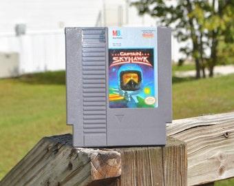 Vintage Nintendo Game Captain Skyhawk Milton Bradley 1990, NES, Video Game, Console Game, Vintage Game, Vintage Nintendo, Vintage Console