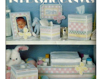 Pastels For Baby in Plastic Canvas Patterns Leisure Arts Leaflet 1294