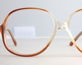 Vintage Spiced Pumpkin Eyeglasses Sunglasses Frames
