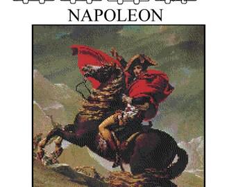 NAPOLEON - Home Decor Counted Cross Stitch Pattern PDF - Plus Free Bonuses - Instant Download