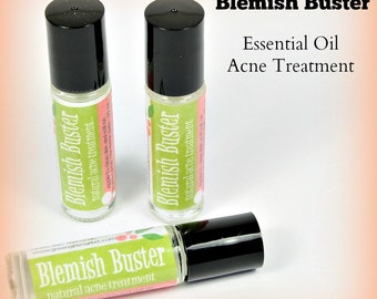 Blemish Buster, natural acne relief, 100% Organic Acne Products - Spot Treatment - Natural Acne Treatment - Blemish Remover
