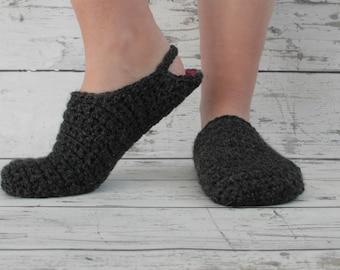 Adult Crochet Slippers, Women's Cozy House Slippers, Summer Slippers, Men's Slippers