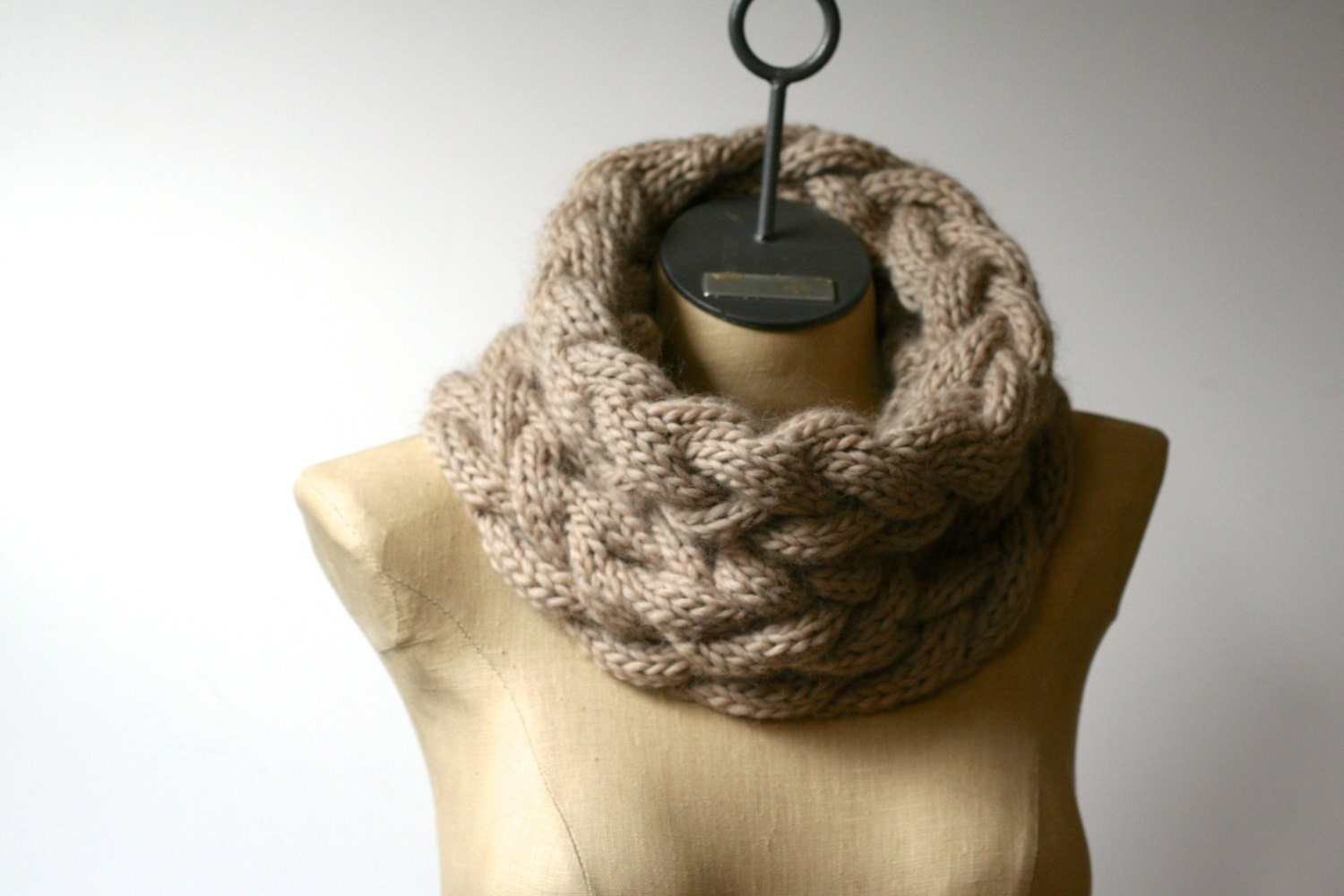 more colors the cozy cabled cowl hand knit 100  pure by amylaroux