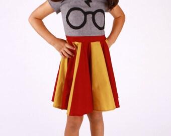 Harry Potter Glasses Dress (Toddler & Juniors)