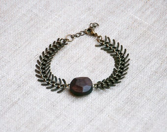 Hellas Fishbone chain Bracelet