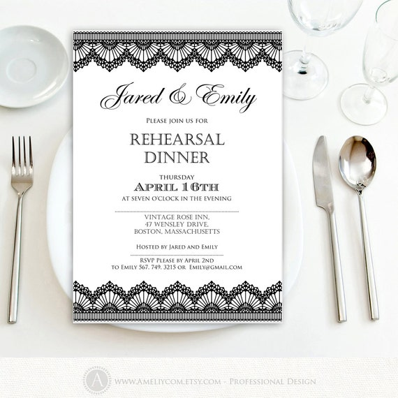 Geeky image for printable rehearsal dinner invitations