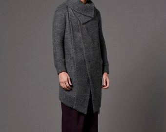 Wool Knitted coat