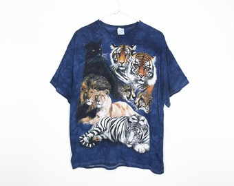 Big Cats tie Dye (xl)