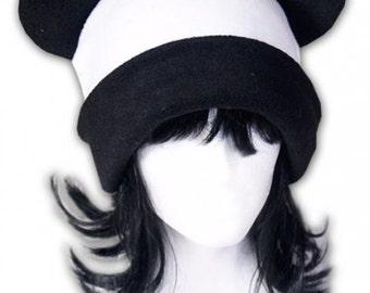 Panda Bear Fleece Hat Anime Cosplay