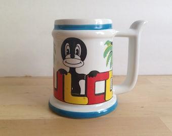 Vintage Acapulco Cup - Tropical Coffee Mug