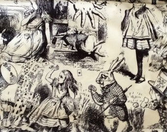 Alice in Wonderland Scarf