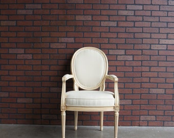 Arm Chair / Accent Chair / Dining Chair / Desk Chair / French Regency Arm Chair by Henredon
